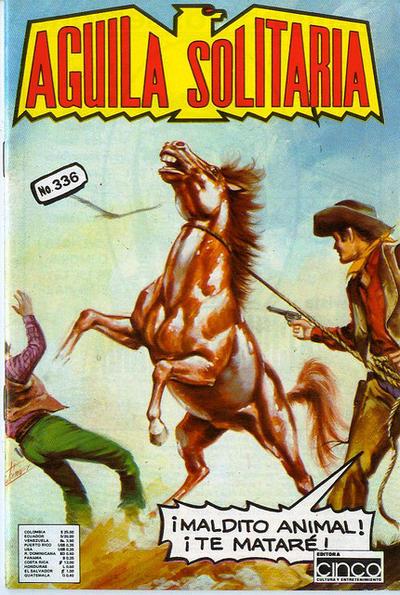 Cover for Aguila Solitaria (Editora Cinco, 1976 ? series) #336