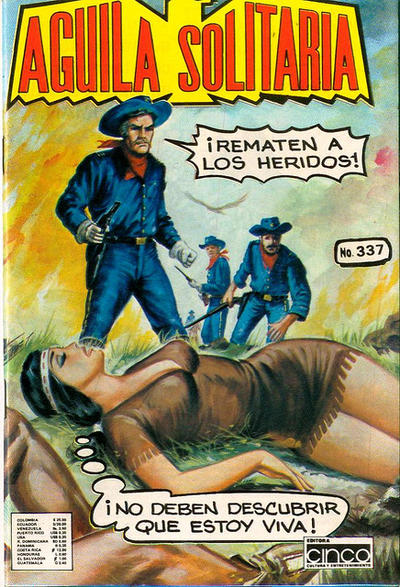 Cover for Aguila Solitaria (Editora Cinco, 1976 ? series) #337