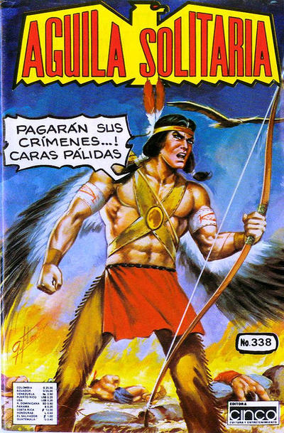 Cover for Aguila Solitaria (Editora Cinco, 1976 ? series) #338