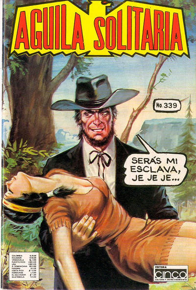 Cover for Aguila Solitaria (Editora Cinco, 1976 ? series) #339