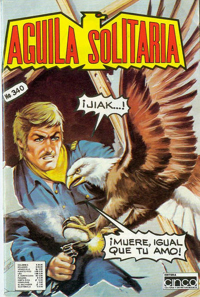 Cover for Aguila Solitaria (Editora Cinco, 1976 ? series) #340