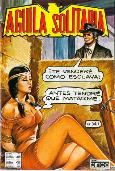 Cover for Aguila Solitaria (Editora Cinco, 1976 ? series) #341