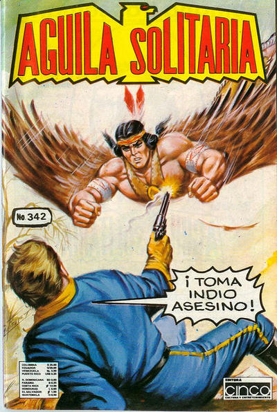 Cover for Aguila Solitaria (Editora Cinco, 1976 ? series) #342