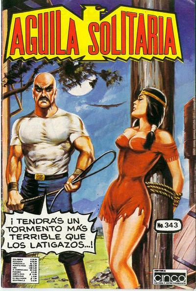 Cover for Aguila Solitaria (Editora Cinco, 1976 ? series) #343