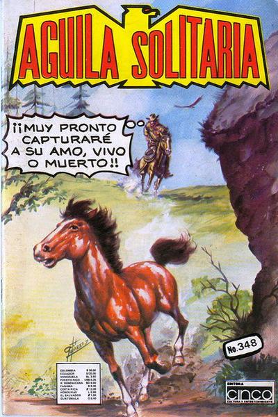 Cover for Aguila Solitaria (Editora Cinco, 1976 ? series) #348