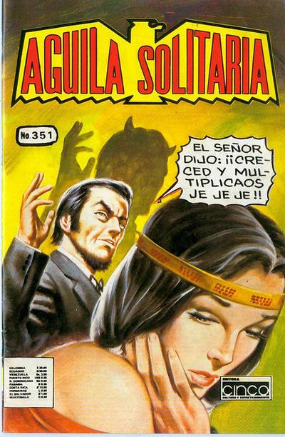 Cover for Aguila Solitaria (Editora Cinco, 1976 ? series) #351