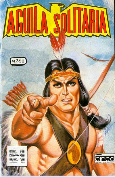 Cover for Aguila Solitaria (Editora Cinco, 1976 ? series) #352