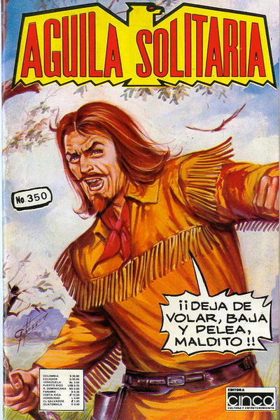 Cover for Aguila Solitaria (Editora Cinco, 1976 ? series) #350