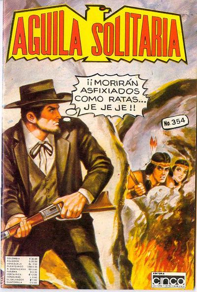 Cover for Aguila Solitaria (Editora Cinco, 1976 ? series) #354