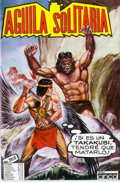 Cover for Aguila Solitaria (Editora Cinco, 1976 ? series) #356