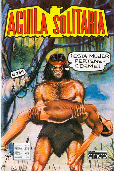 Cover for Aguila Solitaria (Editora Cinco, 1976 ? series) #359