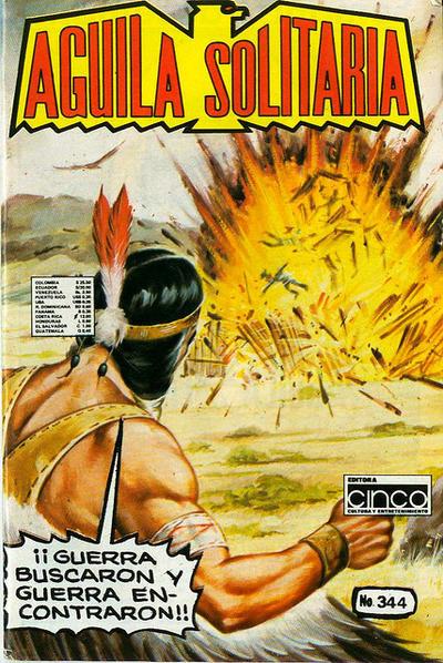 Cover for Aguila Solitaria (Editora Cinco, 1976 ? series) #344