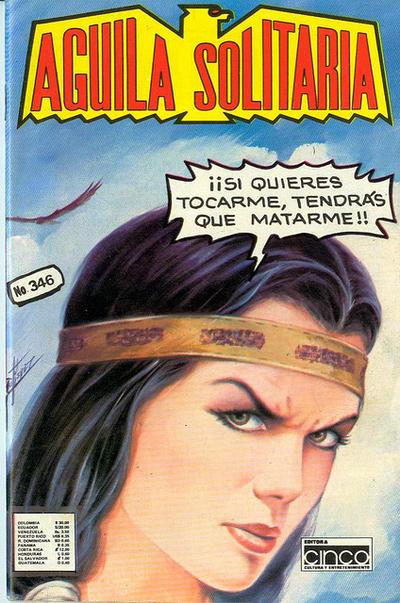 Cover for Aguila Solitaria (Editora Cinco, 1976 ? series) #346