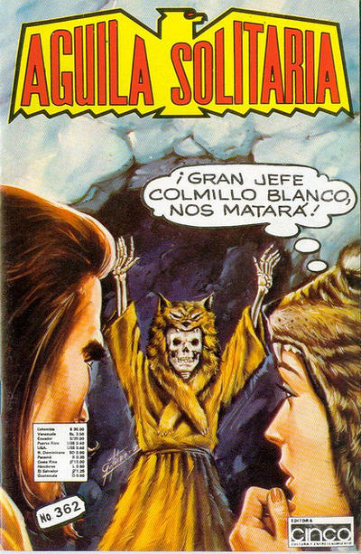 Cover for Aguila Solitaria (Editora Cinco, 1976 ? series) #362