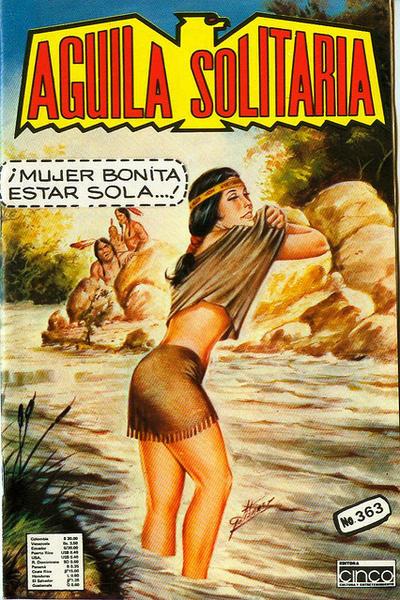 Cover for Aguila Solitaria (Editora Cinco, 1976 ? series) #363
