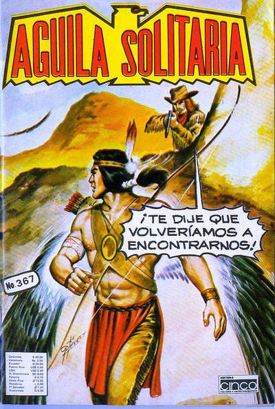 Cover for Aguila Solitaria (Editora Cinco, 1976 ? series) #367