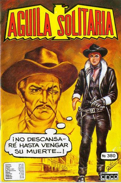 Cover for Aguila Solitaria (Editora Cinco, 1976 ? series) #380