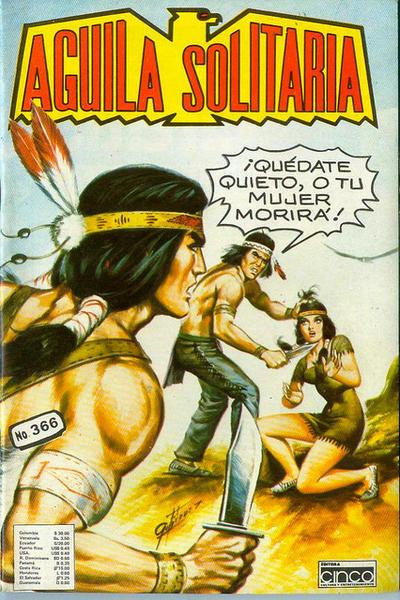 Cover for Aguila Solitaria (Editora Cinco, 1976 ? series) #366