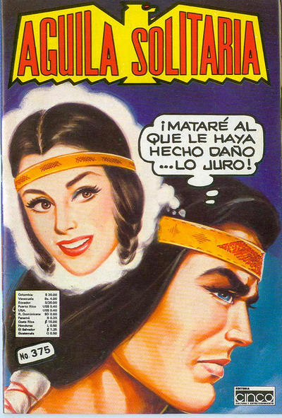 Cover for Aguila Solitaria (Editora Cinco, 1976 ? series) #375