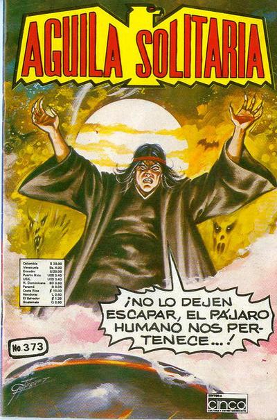 Cover for Aguila Solitaria (Editora Cinco, 1976 ? series) #373
