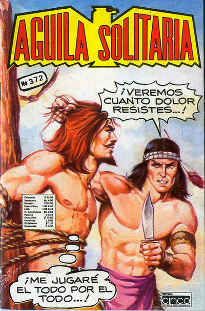 Cover for Aguila Solitaria (Editora Cinco, 1976 ? series) #372