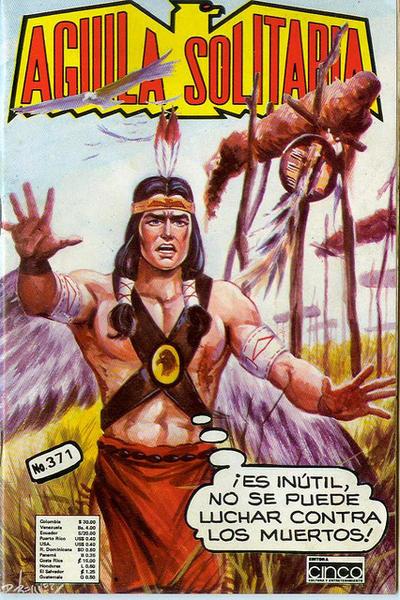 Cover for Aguila Solitaria (Editora Cinco, 1976 ? series) #371