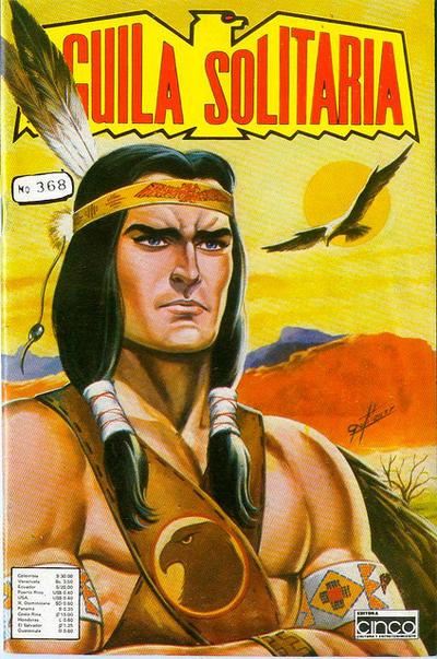 Cover for Aguila Solitaria (Editora Cinco, 1976 ? series) #368
