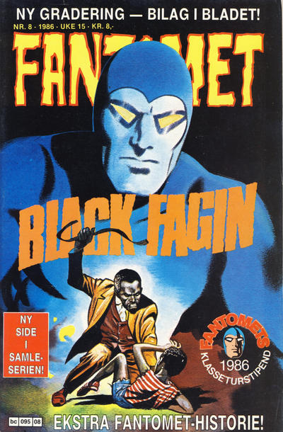 Cover for Fantomet (Semic, 1976 series) #8/1986