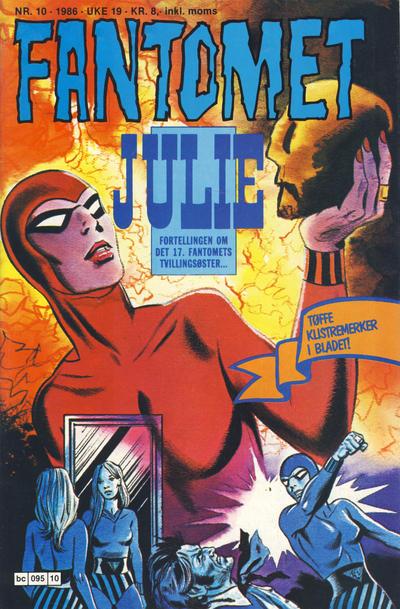 Cover for Fantomet (Semic, 1976 series) #10/1986