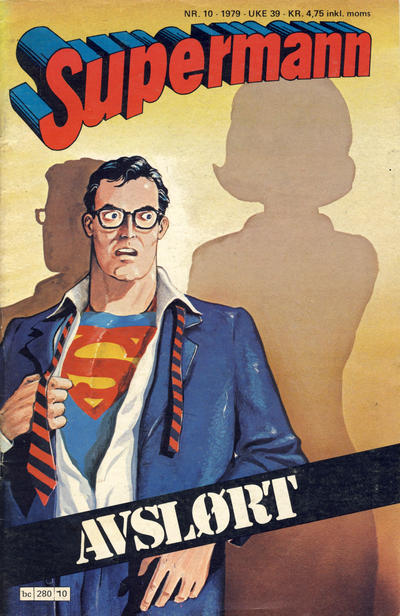 Cover for Supermann (Semic, 1977 series) #10/1979