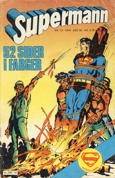 Cover for Supermann (Semic, 1977 series) #13/1979