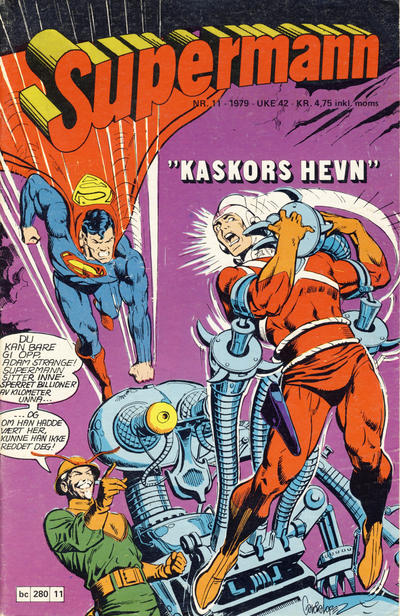 Cover for Supermann (Semic, 1977 series) #11/1979
