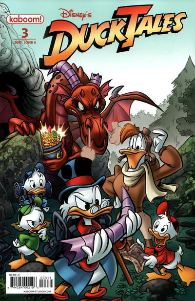 Cover for DuckTales (Boom! Studios, 2011 series) #3 [Cover B]