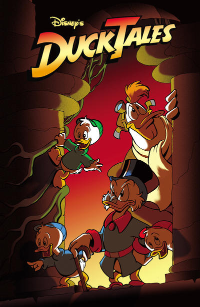 Cover for DuckTales (Boom! Studios, 2011 series) #2 [Cover B]