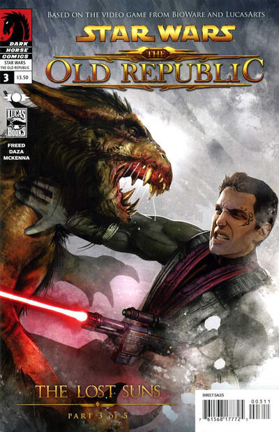 Cover for Star Wars: The Old Republic - The Lost Suns (Dark Horse, 2011 series) #3
