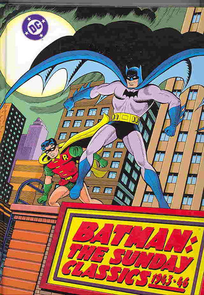 Cover for Batman: The Sunday Classics, 1943-46 (Kitchen Sink Press; DC, 1992 series)