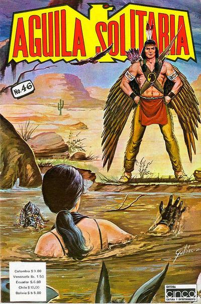 Cover for Aguila Solitaria (Editora Cinco, 1976 ? series) #46
