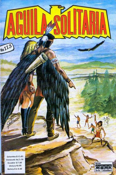 Cover for Aguila Solitaria (Editora Cinco, 1976 ? series) #113