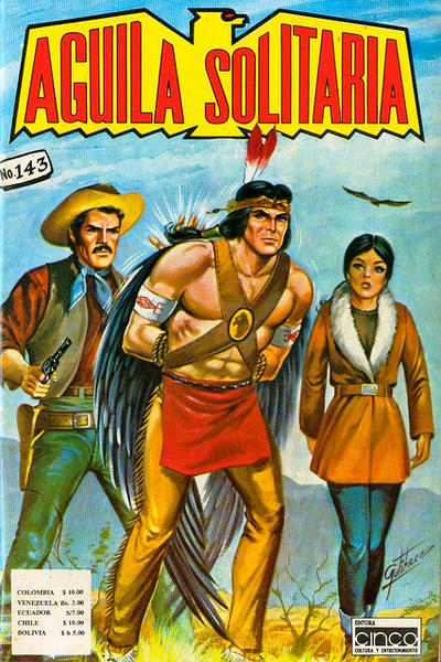 Cover for Aguila Solitaria (Editora Cinco, 1976 ? series) #143