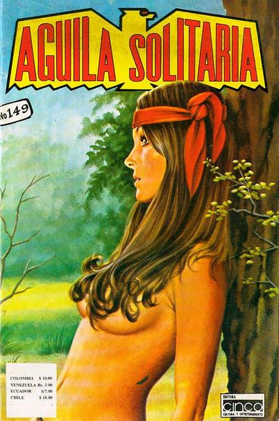 Cover for Aguila Solitaria (Editora Cinco, 1976 ? series) #149