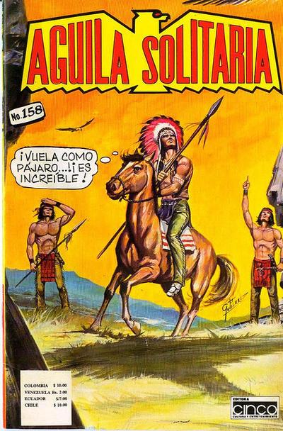 Cover for Aguila Solitaria (Editora Cinco, 1976 ? series) #158