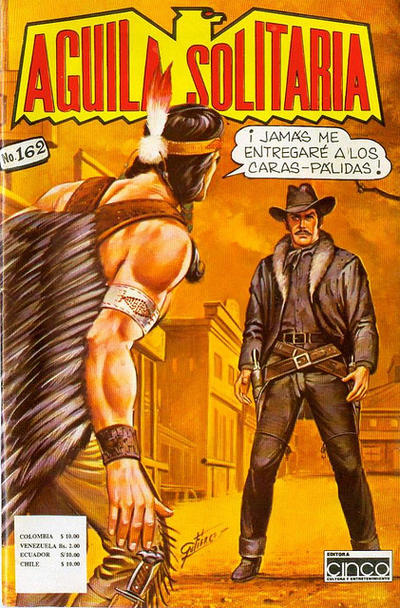 Cover for Aguila Solitaria (Editora Cinco, 1976 ? series) #162