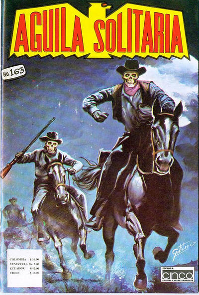Cover for Aguila Solitaria (Editora Cinco, 1976 ? series) #163