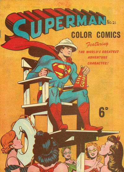 Cover for Superman (K. G. Murray, 1947 series) #21