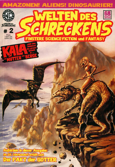 Cover for Welten des Schreckens (Weissblech Comics, 2009 series) #2