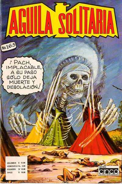 Cover for Aguila Solitaria (Editora Cinco, 1976 ? series) #165