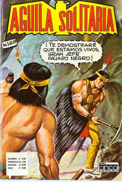 Cover for Aguila Solitaria (Editora Cinco, 1976 ? series) #169