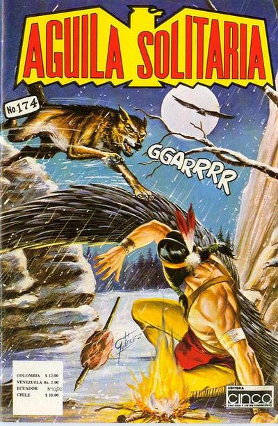 Cover for Aguila Solitaria (Editora Cinco, 1976 ? series) #174