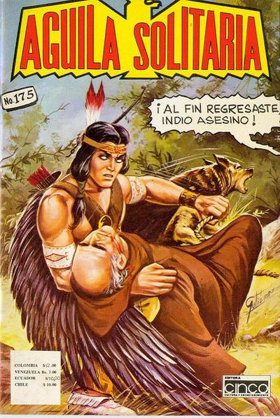 Cover for Aguila Solitaria (Editora Cinco, 1976 ? series) #175
