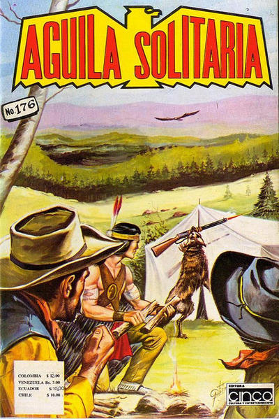 Cover for Aguila Solitaria (Editora Cinco, 1976 ? series) #176